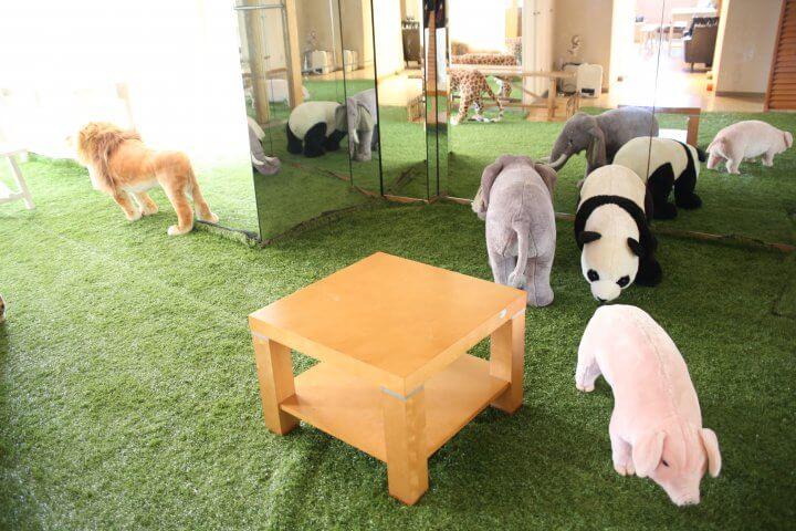 ことばハウス_動物椅子